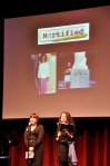 Karen Corday and Sara Faith Alterman of Mortified Boston