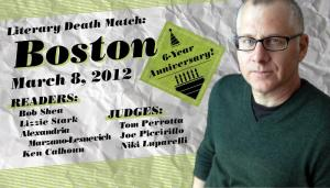 Literary Death Match Boston, Episode 7, with Tom Perrotta