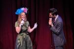 Hosts Kirsten Sims and Todd Zuniga
