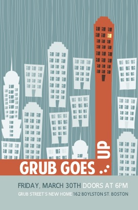 Grub Goes... Up! poster