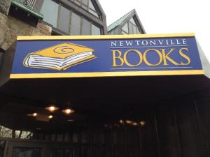 Newtonville Books in Newton Centre, MA