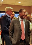 Mayor Setti Warren at the Newtonville Books grand opening