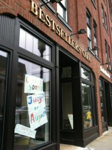Bestsellers cafe in Medford, MA