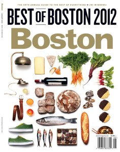Boston magazine's Best of Boston 2012