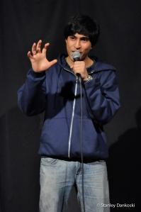 Comedian Alingon Mitra